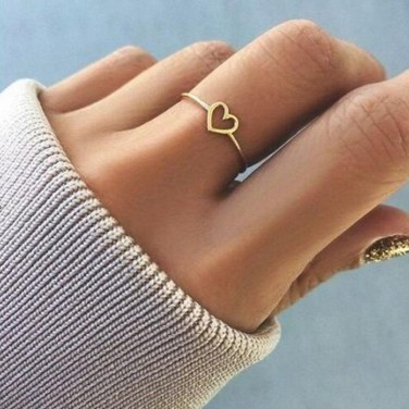 Cute Womens Ring Jewelry Ideas For Valentines Day07