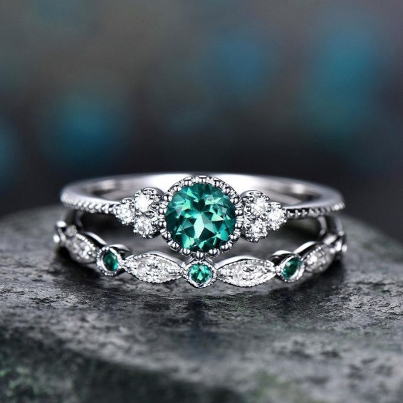 Cute Womens Ring Jewelry Ideas For Valentines Day34