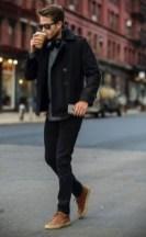 Elegant Winter Outfits Ideas For Men26