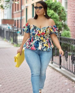 Glamour Summer Fashion Trends Ideas For Plus Size38