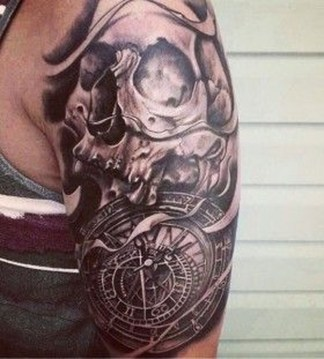 Gorgeous Arm Tattoo Design Ideas For Men That Looks Cool20