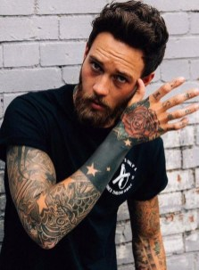 Gorgeous Arm Tattoo Design Ideas For Men That Looks Cool48