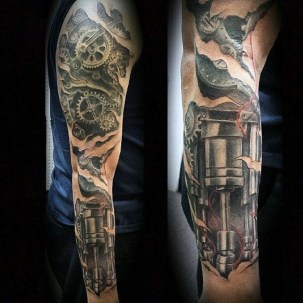 Gorgeous Arm Tattoo Design Ideas For Men That Looks Cool49