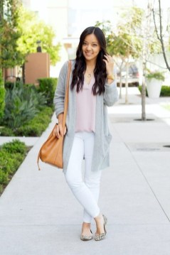 Gorgeous Summer Outfit Ideas With Cardigans For Women07