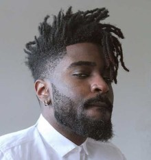 Hottest Black Hair Style Ideas For Men To Make You Cool16