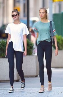 Inspiring Summer Outfits Ideas With Leggings To Try13