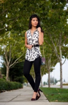 Inspiring Summer Outfits Ideas With Leggings To Try28