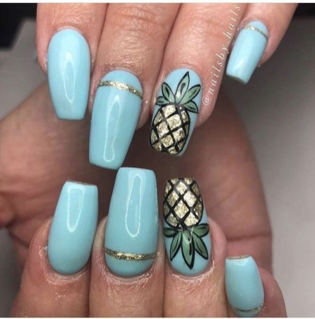 Popular Nail Art Designs Ideas For Summer 201908