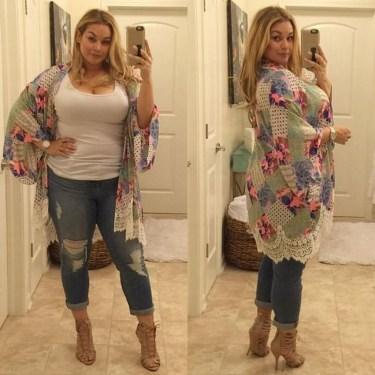 Trendy Plus Sized Style Ideas For Women25