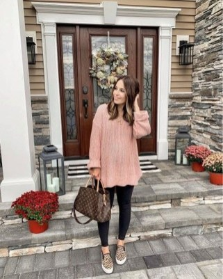 Attractive Sneakers Outfit Ideas For Fall And Winter16