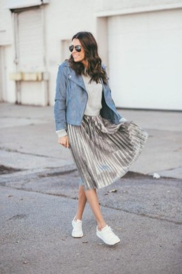 Attractive Sneakers Outfit Ideas For Fall And Winter17