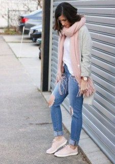 Attractive Sneakers Outfit Ideas For Fall And Winter23