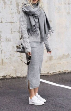 Attractive Sneakers Outfit Ideas For Fall And Winter35
