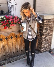 Charming Outfit Ideas That Perfect For Fall To Try30