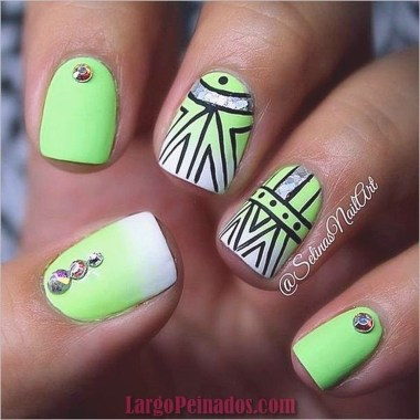 Cozy Aztec Nail Art Designs Ideas You Will Love To Copy06