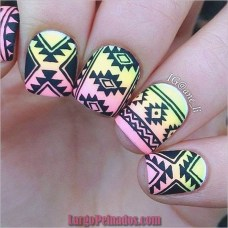 Cozy Aztec Nail Art Designs Ideas You Will Love To Copy10