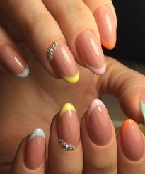 Creative Half Moon Nail Art Designs Ideas To Try05