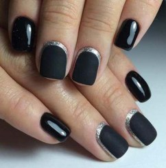 Creative Half Moon Nail Art Designs Ideas To Try09
