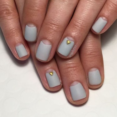 Creative Half Moon Nail Art Designs Ideas To Try22
