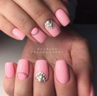 Creative Half Moon Nail Art Designs Ideas To Try23