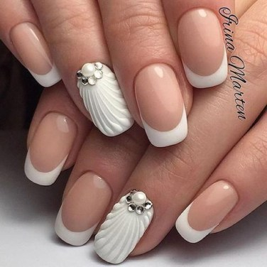 Cute French Manicure Designs Ideas To Try This Season03