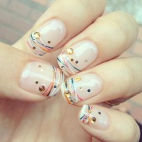 Cute French Manicure Designs Ideas To Try This Season04