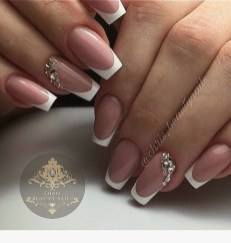 Cute French Manicure Designs Ideas To Try This Season19