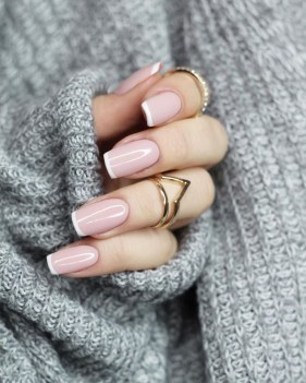 Cute French Manicure Designs Ideas To Try This Season25