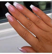 Cute French Manicure Designs Ideas To Try This Season37