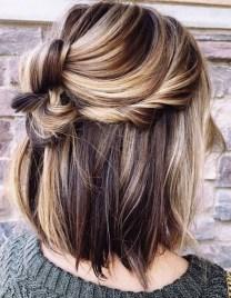 Elegant Brunette Hairstyles Ideas For Lovely Women05