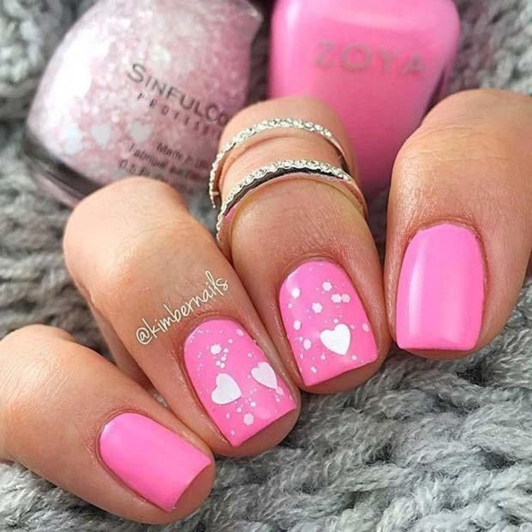Fashionable Pink And White Nails Designs Ideas You Wish To Try18