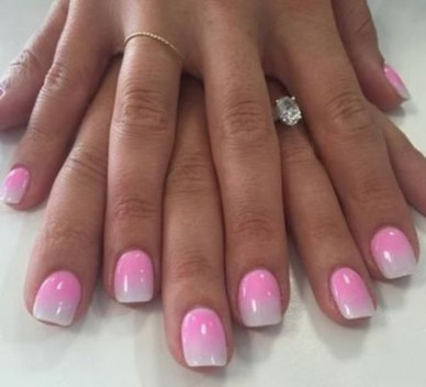 Fashionable Pink And White Nails Designs Ideas You Wish To Try26