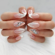 Fashionable Pink And White Nails Designs Ideas You Wish To Try35