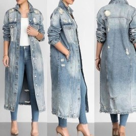 Flawless Outfit Ideas How To Wear Denim Jacket11