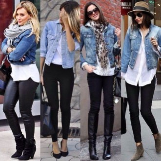 Flawless Outfit Ideas How To Wear Denim Jacket16