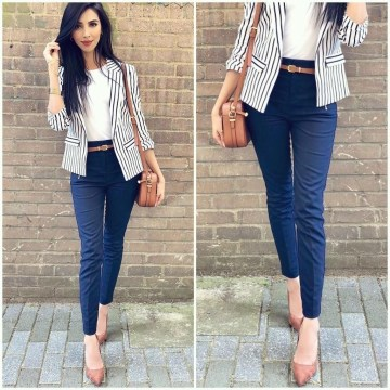Impressive Spring And Summer Work Outfits Ideas For Women25