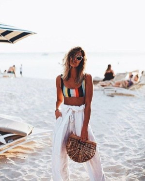 Newest Summer Beach Outfits Ideas For Women 201915