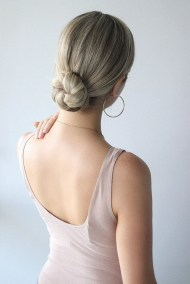 Unique Bun Hairstyles Ideas That Youll Love26