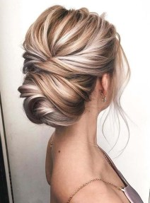 Unique Bun Hairstyles Ideas That Youll Love33