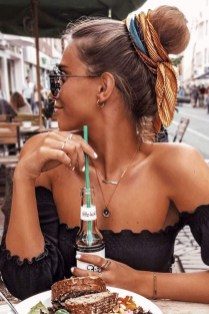 Unique Bun Hairstyles Ideas That Youll Love38