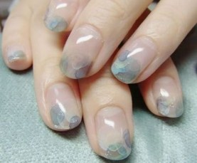 Unusual Watercolor Nail Art Ideas That Looks Cool20