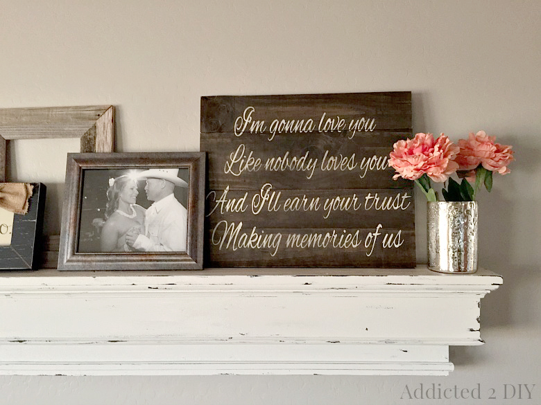 Wedding Song Wood Art