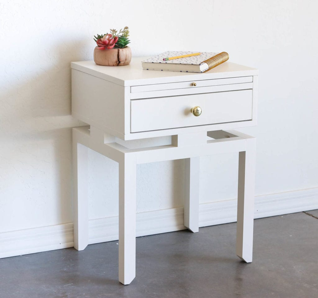 How To Build A Diy Nightstand With Floating Top Addicted 2 Diy