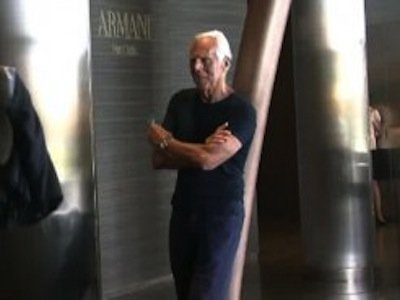 #12 Giorgio Armani