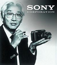 Morita with sony Camera