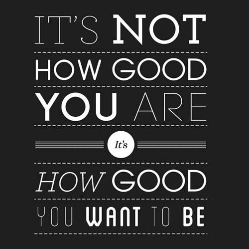 Inspirational Discipline Typography Picture Quote Be Good