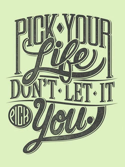 Motivational Typography Quote