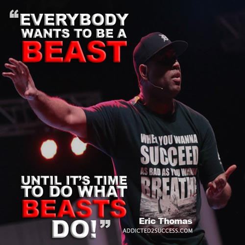 Eric-1  22 Eric Thomas Picture Quotes To Keep Your Motivation At It's Peak Eric 12
