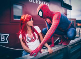 Confidence And Vulnerable Spiderman Cosplay