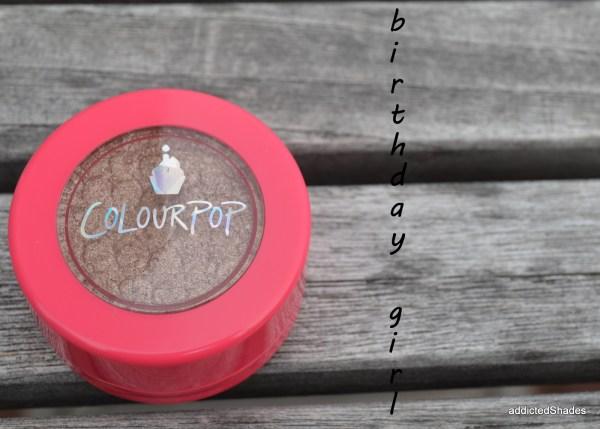 Colourpop Birthday Girl Eyeshadow